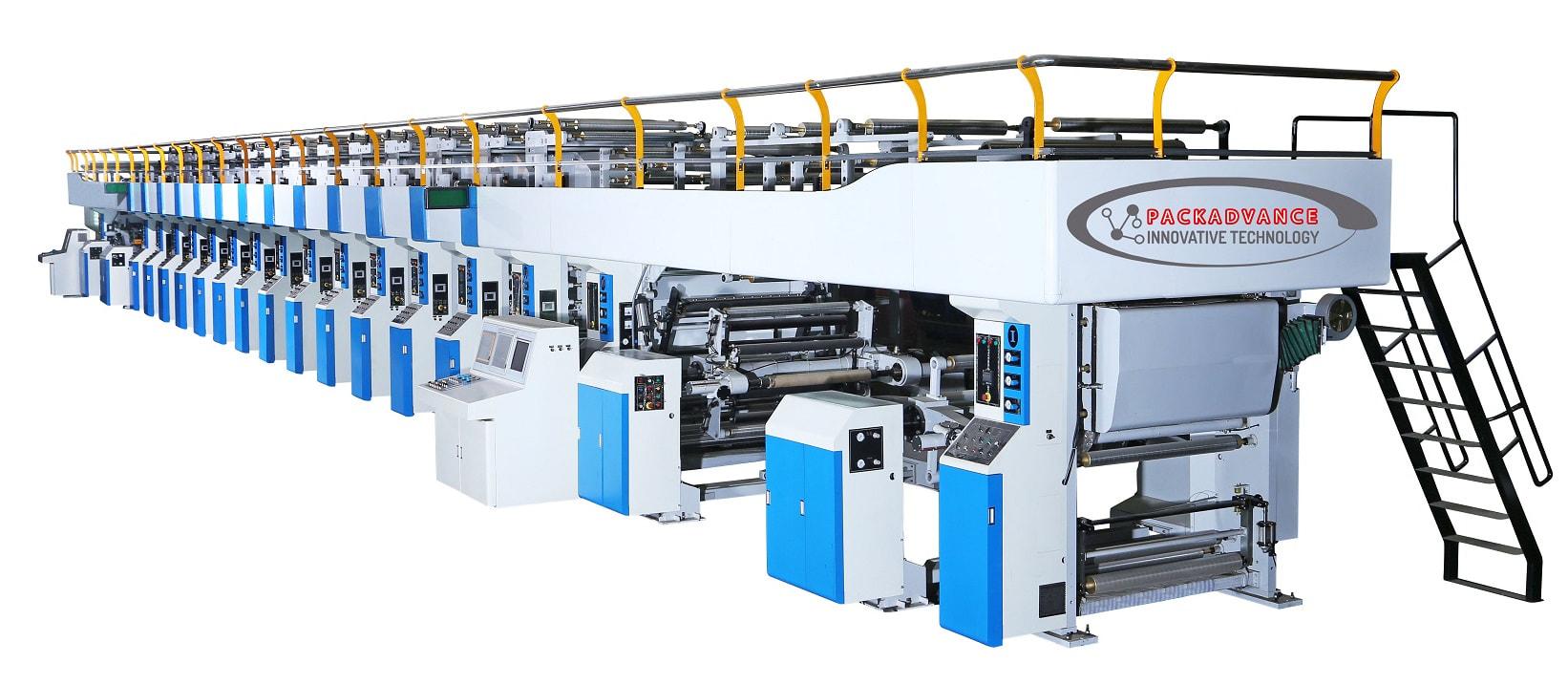 rotogravure printing machines packadvance innovative technology